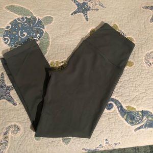 Pants - Greenish/grey 3/4 length legging